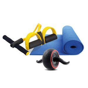 Combo Fitness Rueda Carver+ Pull Reducer+ Mat 6mm