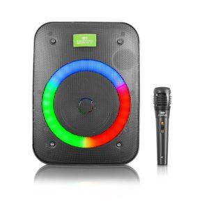 Parlante Portátil Rainbow Eversound EV 1055 Bocina de 4 Iluminación Disco