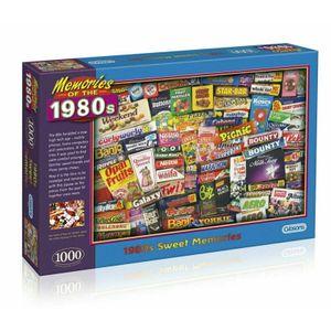 Rompecabezas Gibsons 1980S Dulces Memorias 1000 piezas G7030