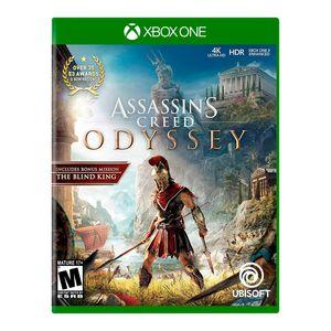Videojuego Xbox One Assassins Creed Odyssey Latam