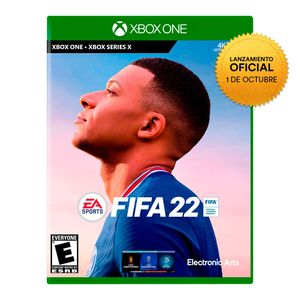 Videojuego Preventa Fifa 22 Xbox One Latam
