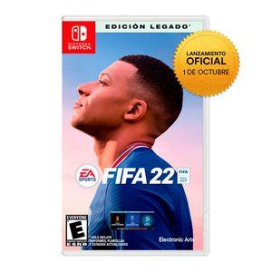 Videojuego Preventa Fifa 22 Nintendo Switch Legacy Edition Latam