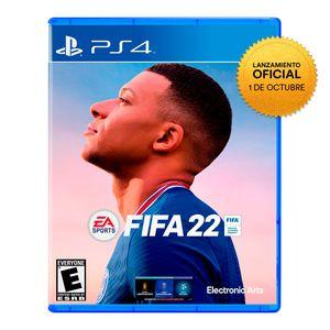 Videojuego Preventa Fifa 22 Playstation 4 Latam