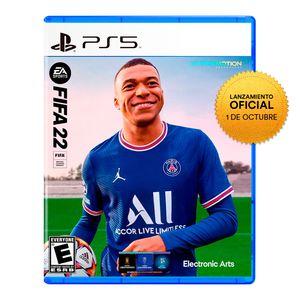Videojuego Preventa Fifa 22 Playstation 5 Latam