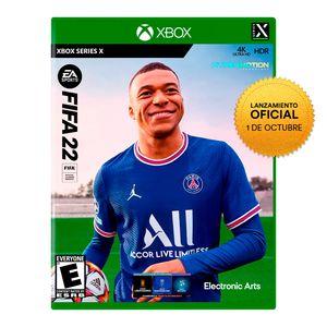 Videojuego Preventa Fifa 22 Xbox Serie X Latam