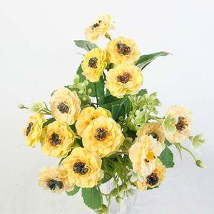 Flor Lili Hogarama Artificial Amarilla