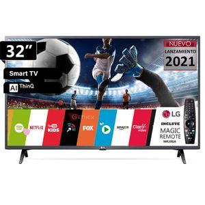 """Televisor Led 32"""" Ai Thinq Smart HD LG 32LM637B + Control Magic 2020"""