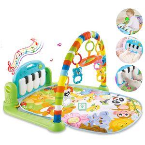 Gimnasio de Bebe con Piano Baby World 696-R22 Verde