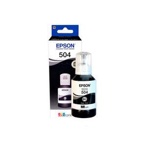 Botella de Tinta Epson T504120-Al Negro