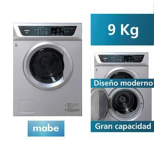 Secadora Electrica Mabe SEM81BDGB 9 KG Silver