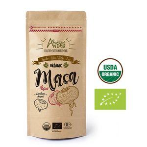 Harina de Maca Mix Organica Amazon Andes Cruda 200gr Puro y Natural