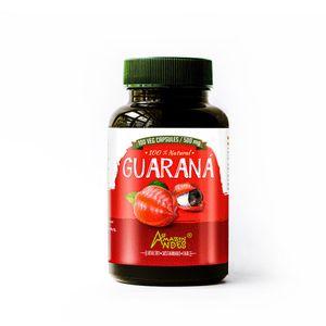 Guarana Amazon Andes en Capsula Vegana 100 x 500mg Puro y Natural