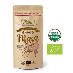 Harina de Maca Mix Organica Amazon Andes Gelatinizada 200gr Puro y Natural