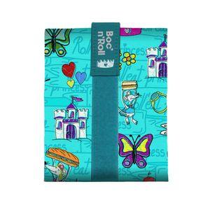 Porta Sandwiches Rolleat Boc'n'Roll Kids Princesas Verde
