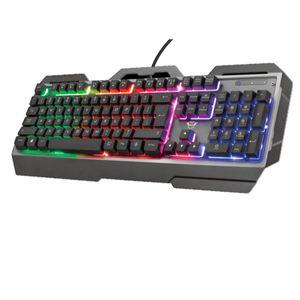 Teclado Mecánico para Juegos con Iluminación Multicolor Trust Gxt856 Torac