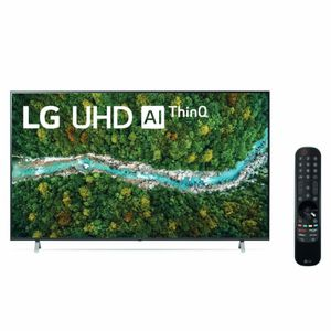 "Televisor LG UHD 4K ThinQ AI 55"" 55UP7750 (2021)"