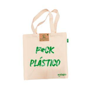 Bolsa Ecológica de Supermercado Fuck Plástico