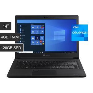 """Laptop Dynabook Toshiba A30G Intel Celeron 5205U 4GB Ram 128GB SSD W10 13,3"""" FHD"""