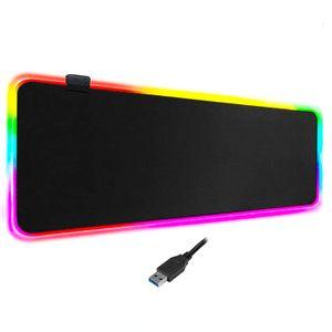 Mouse Pad Gamer XL RGB 7 Colores 80 x 30cm