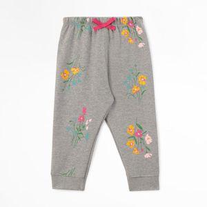 Pantalón Buzo De Flores Para bebe niña