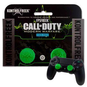 KontrolFreek Call Of Duty para Mando PS4 PS5 Precisión Grips Verde