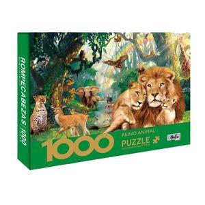 Rompecabezas 1000 Piezas Reino Animal