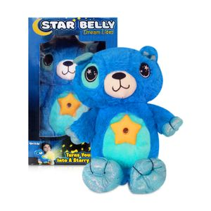 Peluche con Proyección de Luz Star Belly Dream - Perrito Azul