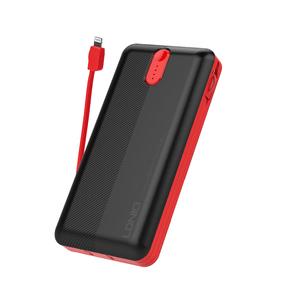 Batería Portátil Powerbank Ldnio 20 000mah Negro con Conectores iPhone iPad iPod Airpods Android
