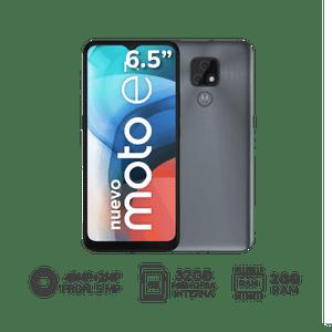 "Motorola MOTO E7 6.5"" 2GB RAM 32GB Gris"