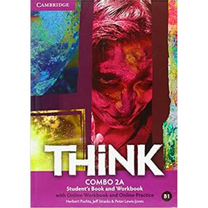 Think Combo 2A W/Online Wb And Online Practice Versión Británica