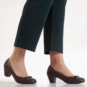 Zapatos De Vestir Madison Mujer Vestlazo Marron
