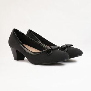 Zapatos De Vestir Madison Mujer Vestlazo Negro