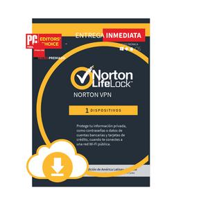 Norton VPN 1 dispositivos 1 Año