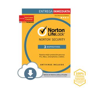 Norton Security Online 3 Dispositivos 3 Años