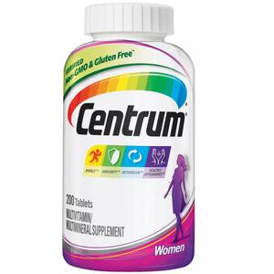 Multivitamínico Centrum Mujer 200 Tabletas