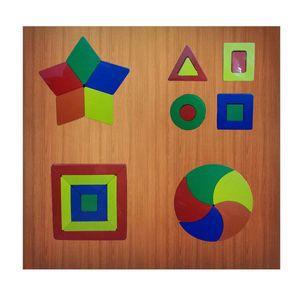 Set de Encaje con 4 Figuras Geométricas