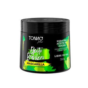 Tonno Plus Mascarilla Efecto Brasilero Con Keratina 350g