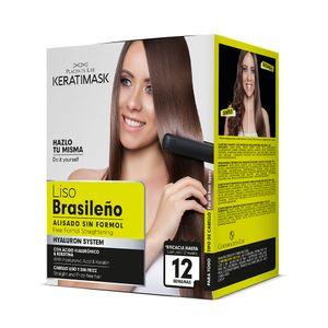 Kit Alisado Brasileño Keratimask