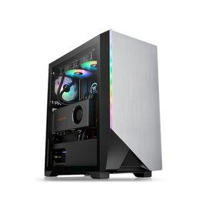 Case Thermaltake H550 TG ARGB Mid-tower Color Negro No Incluye Fuente