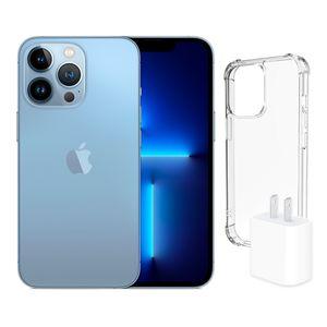 iPhone 13 Pro 256gb Sierra Blue más Adaptador 20w más Case Spigen Pre-venta