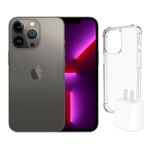 iPhone 13 Pro Max 256GB Graphite más adaptador 20w más Case Spigen Pre-venta