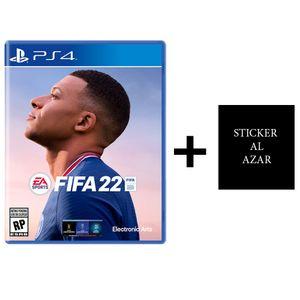 Preventa Fifa 22 + Sticker