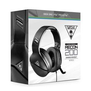 Audifono Ps4 Turtle Beach Earforce Recon  200 Headset Negro