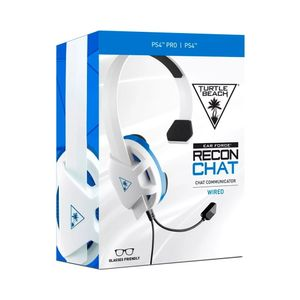 Audifono Ps4 Turtle Beach Earforce Recon Chat Headset Blanco