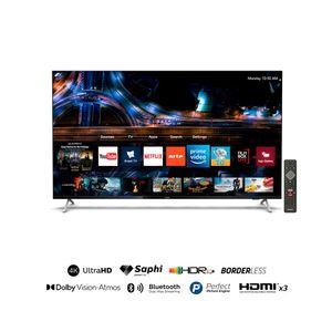 "Televisor Philips Smart Tv 50"" UHD 4K50PUD7625 Negro"