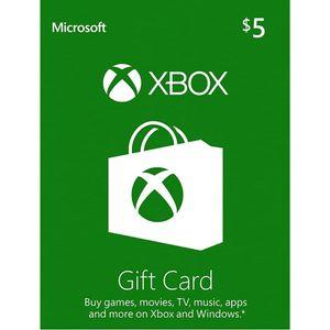 Codigo Xbox 5 Usd Xbox Gift Card $5 USA (Digital)
