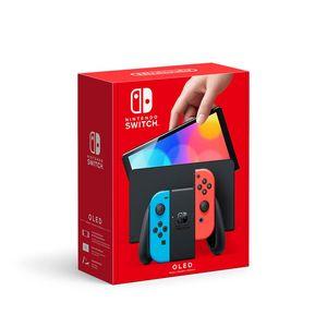 Consola Nintendo Switch Modelo Oled Neón