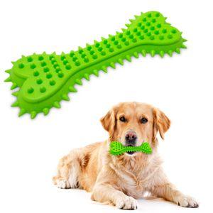Juguete de Goma para Perro - Hueso Verde