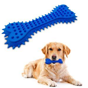 Juguete de Goma para Perro - Hueso Azul