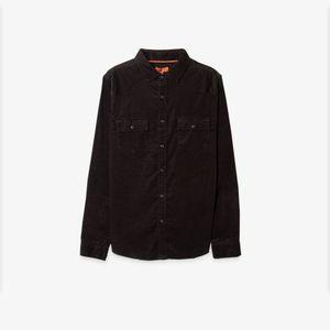Camisa Corduroy Negro